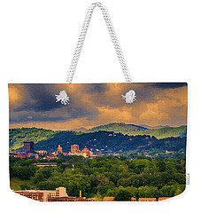 Asheville North Carolina Weekender Tote Bag