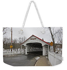 Ashuelot Bridge Weekender Tote Bag