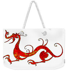 Asian Dragon Weekender Tote Bag