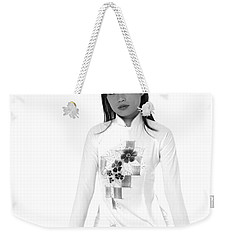Asian Girl Weekender Tote Bag