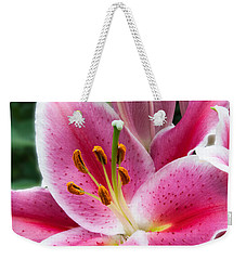 Asian Lily Weekender Tote Bag