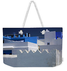 Weekender Tote Bag featuring the photograph Asilah Meaning Authentic In Arabic Fortified Town On Northwest Tip Of Atlantic Coast Of Morocco by Ralph A  Ledergerber-Photography