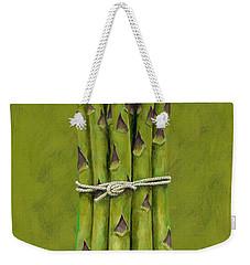 Asparagus Weekender Tote Bag by Brian James