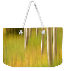 Aspen Abstract Weekender Tote Bag by Ronda Kimbrow