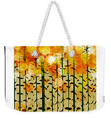 Aspen Colorado Abstract Square 4 Weekender Tote Bag