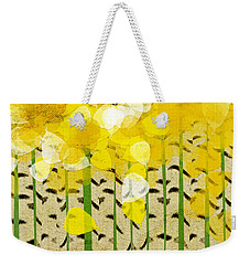 Aspen Colorado Abstract Square Weekender Tote Bag