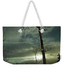 Aspen In Moonlight Weekender Tote Bag