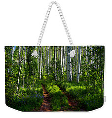 Aspen Lane Weekender Tote Bag by Jeremy Rhoades