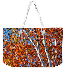 Weekender Tote Bag featuring the photograph Aspen by Sebastian Musial