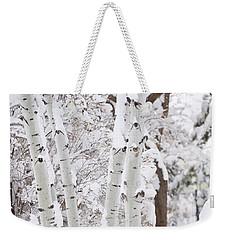 Aspen Snow Weekender Tote Bag
