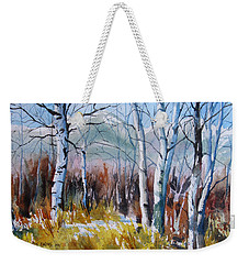 Aspen Thicket Weekender Tote Bag