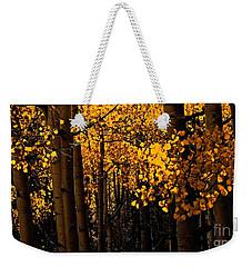 Aspen Woods Weekender Tote Bag