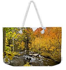 Aspens At Bishop Creek Weekender Tote Bag