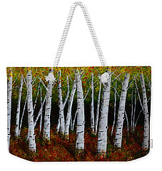 Aspens In Fall 2 Weekender Tote Bag