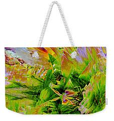 Aspidistral Butterfly Weekender Tote Bag