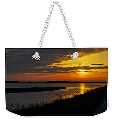 Assateague Sunrise Weekender Tote Bag