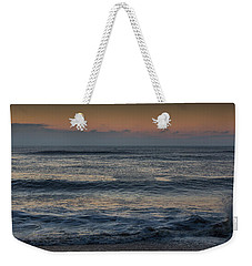 Assateague Waves Weekender Tote Bag by Photographic Arts And Design Studio
