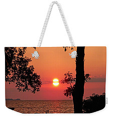 Association Island Sunset Weekender Tote Bag by Aimee L Maher Photography and Art Visit ALMGallerydotcom