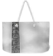 Weekender Tote Bag featuring the photograph Astoria The Column by David Millenheft