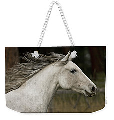 At A Full Gallop Weekender Tote Bag by Wes and Dotty Weber