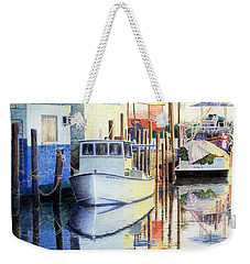 At Cortez Docks Weekender Tote Bag