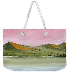 At Peace Weekender Tote Bag by Jennifer Muller