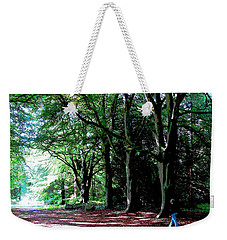 Weekender Tote Bag featuring the photograph At Peace With Nature by Charlie Brock