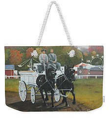 At The Carp Fair Weekender Tote Bag