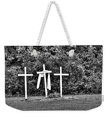 At The Cross Weekender Tote Bag