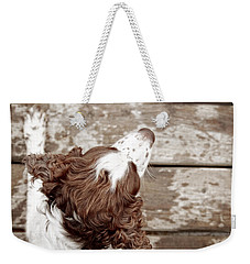 At The Dock Weekender Tote Bag