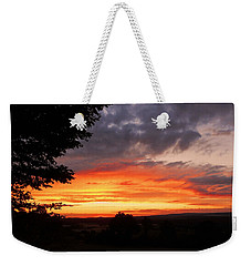 Weekender Tote Bag featuring the photograph At The End Of The Day ... by Juergen Weiss