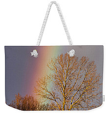 At The End Of The Rainbow Weekender Tote Bag