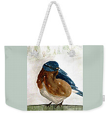 At The Garden Gate Weekender Tote Bag
