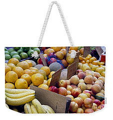 At The Market Weekender Tote Bag by Jon Neidert