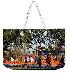 At The Pumpkin Farm Weekender Tote Bag