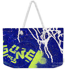 Weekender Tote Bag featuring the photograph At The Skatepark by Ethna Gillespie