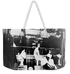 Weekender Tote Bag featuring the photograph Atget Hairdresser, C1920 by Granger