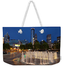 Atlanta By Night Weekender Tote Bag