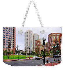 Atlantic Avenue Weekender Tote Bag