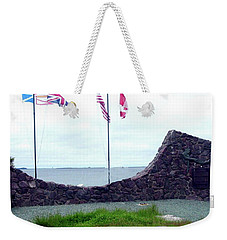 Atlantic Charter Historic Site Weekender Tote Bag by Barbara Griffin