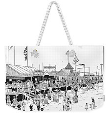 Atlantic City Boardwalk 1883 Weekender Tote Bag