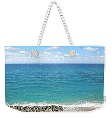Atlantic Ocean In South Florida Weekender Tote Bag