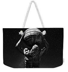 Atlas Weekender Tote Bag by Beverly Cash