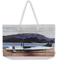 Atr 72 - Arctic Bay Weekender Tote Bag