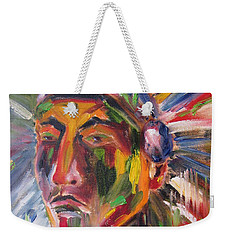 Atsila, Native American Weekender Tote Bag