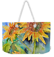 Attack Of The Killer Sunflowers Weekender Tote Bag