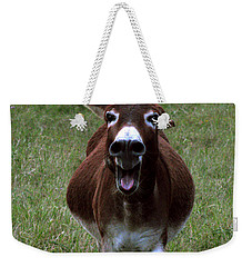 Weekender Tote Bag featuring the photograph Attack by Peter Piatt