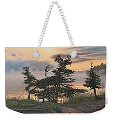 Auburn Evening Weekender Tote Bag by Kenneth M  Kirsch