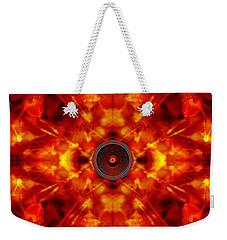 Audio Kaleidoscope Weekender Tote Bag