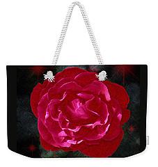 August Rose Weekender Tote Bag by Richard Farrington